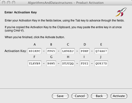 Enter Activation Key 2